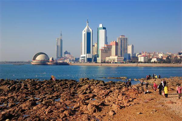 Qingdao Skyline - China
