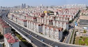 Stadtbild mit Deutschen Bauwerken - China