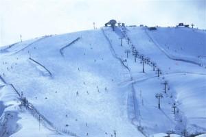 Skipiste mit Lift - Sapporo