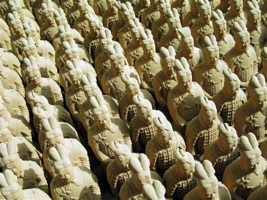 Terrakotta-Armee von Xi´an - China