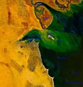 Inseln vor Kuwait