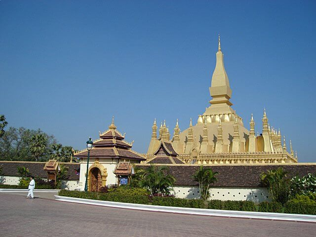 Pha That Luang in Laos