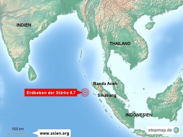 erdbeben tsunami warnung vor sumatra indonesien. Black Bedroom Furniture Sets. Home Design Ideas