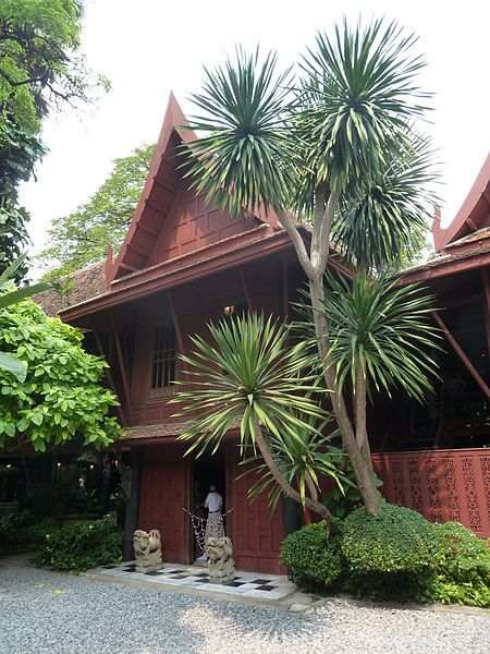 Das Jim Thompson House in Bangkok