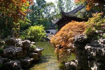 Der Yu-Garten in der Altstadt von Shanghai