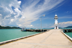 Pier in Bangbao (Koh Chang)