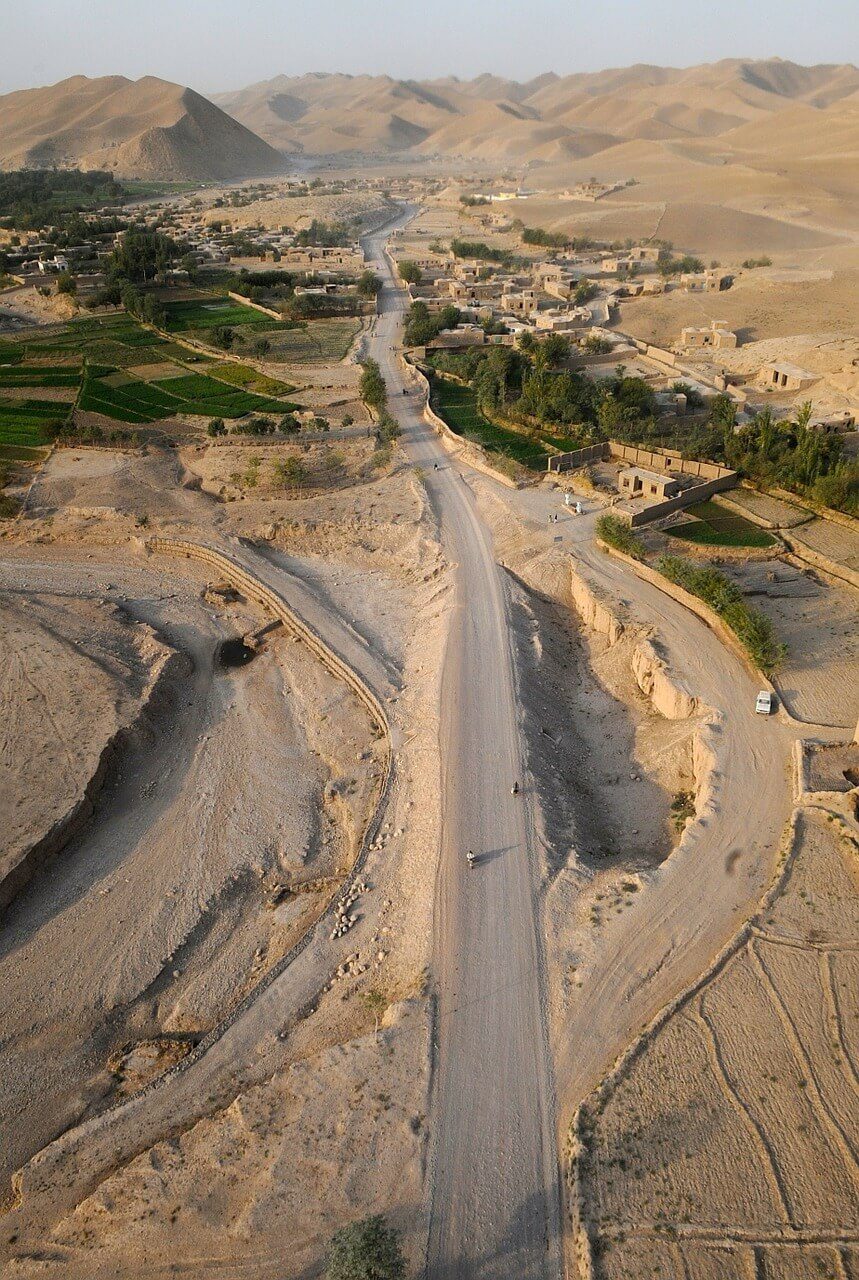 afghanistan landschaft dorf