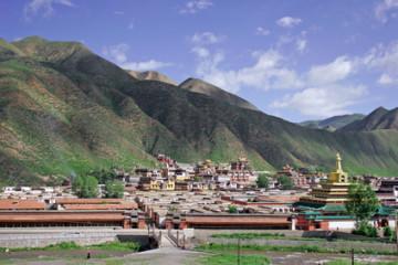 Klosteranlage von Labrang in Xiahe