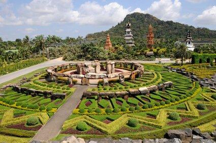 Der Nong Nooch Park in Pattaya
