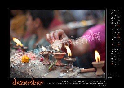 Nepal Kalender der Himalaya Friends - Dezember