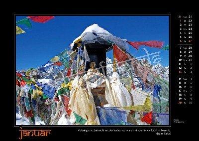 Nepal Kalender der Himalaya Friends