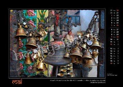 Nepal Kalender der Himalaya Friends - Mai