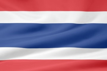 Flagge von Thailand