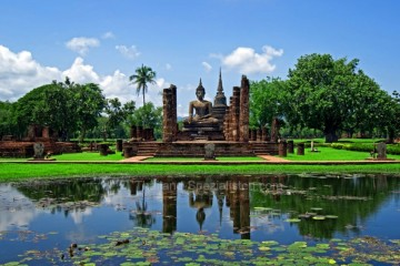Sukhothai - historischer Park