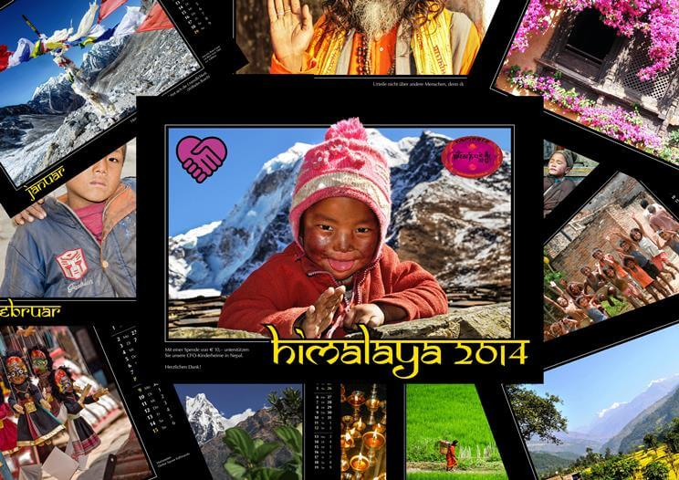 Kalender 2014 Collage