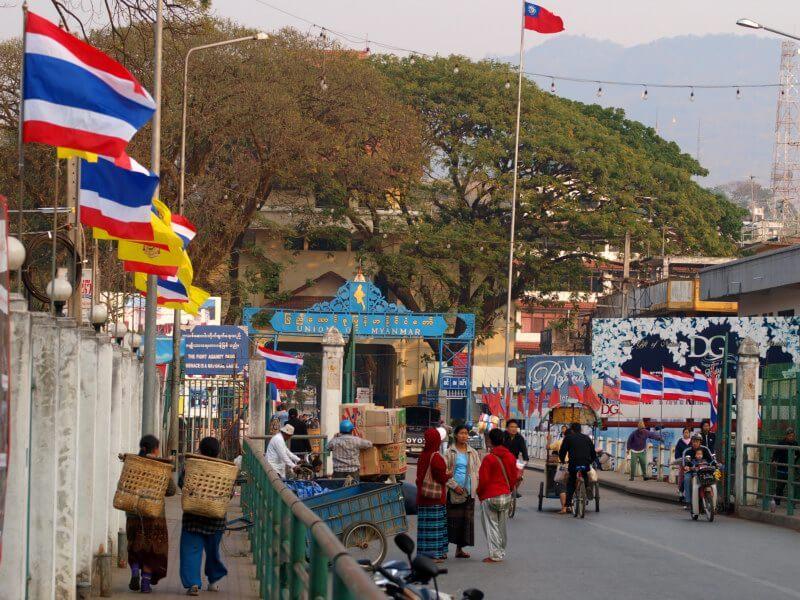 Grenzübergang Tachileik :