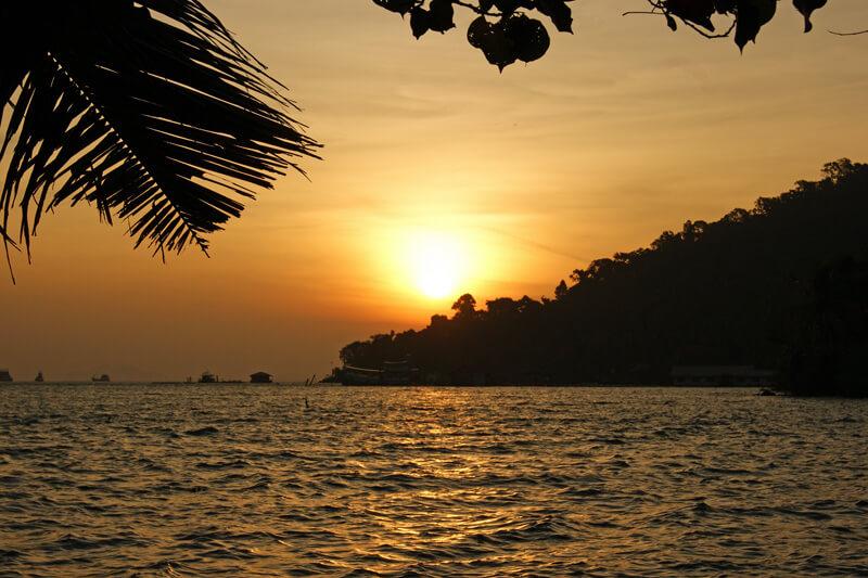 Sonnenaufgang bei Koh Chang