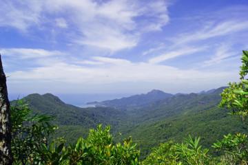 Auf dem höchsten Gipfel von Koh Chang