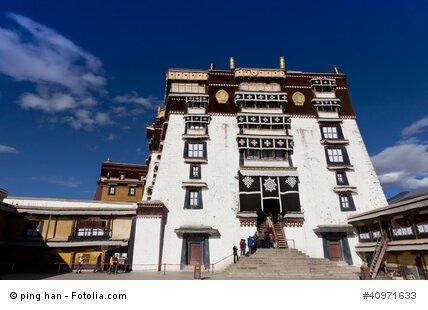 Der Weiße Palast im Potala-Palast