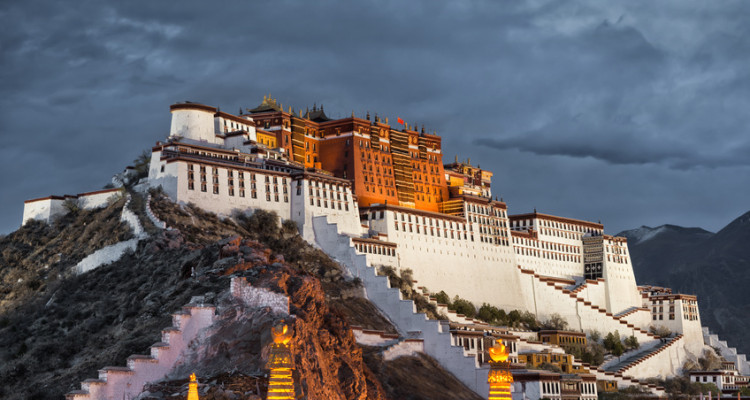 Der Potala-Palast in Lhasa