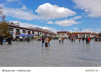 Jokhang Tempel am Barkhor Square, Tibet