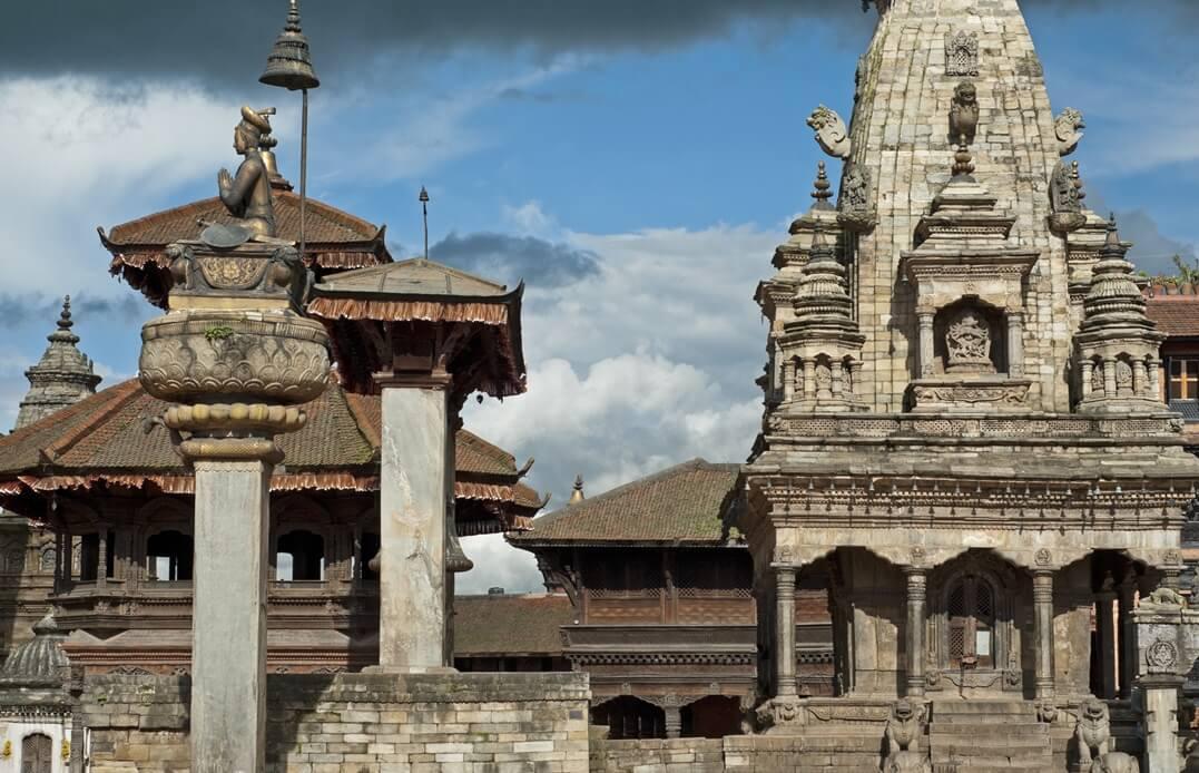 Der Durbar-Square in Bhaktapur