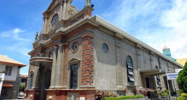 Die Kathedrale von Dumaguete auf Negros