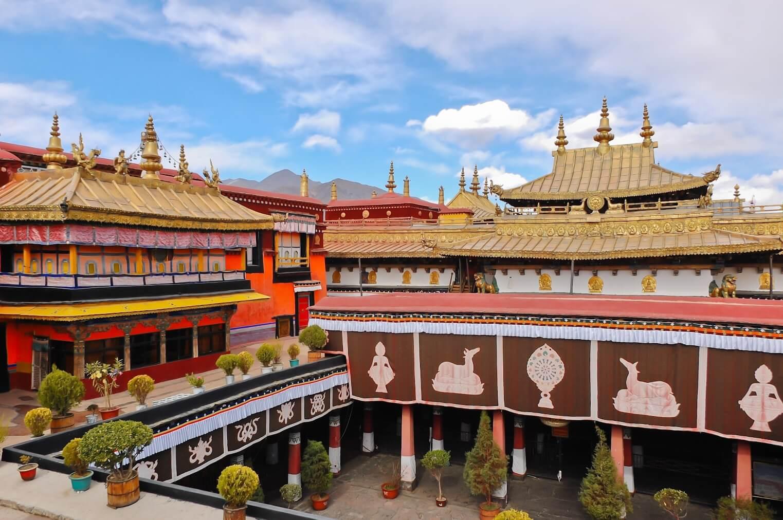 Der Jokhang-Tempel in Lhasa