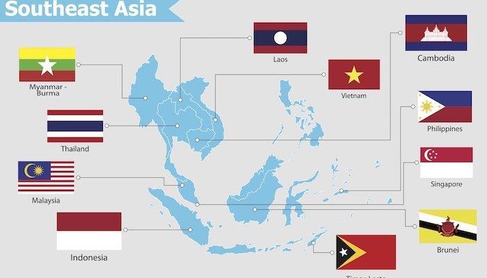 Asien Länder Karte.Südostasien Wichtige Infos Tipps Top Reiseziele In Der Region