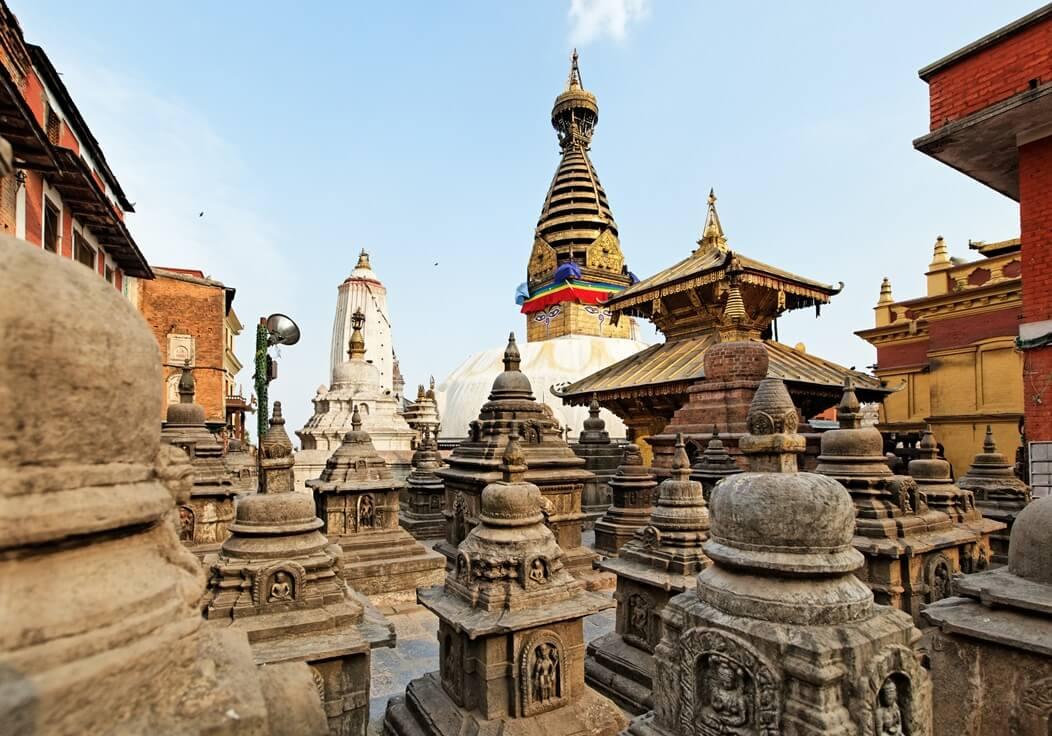 Swayambhunath - der Tempel der Affen in Kathmandu