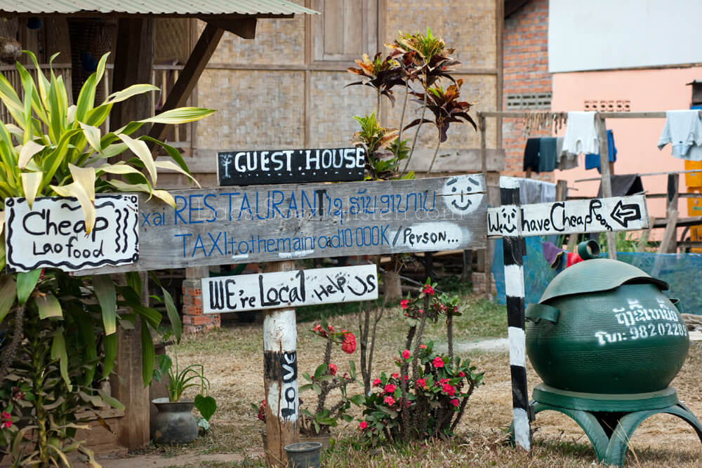 """We are local"" Aktionen in Laos"