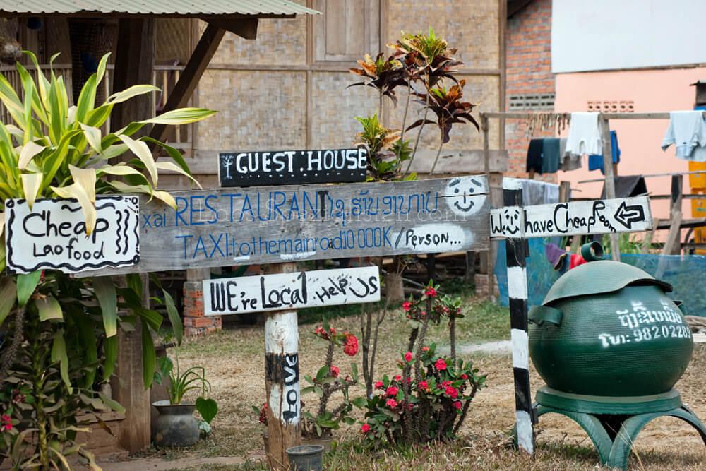 """We are local"" Aktionen in Laos"