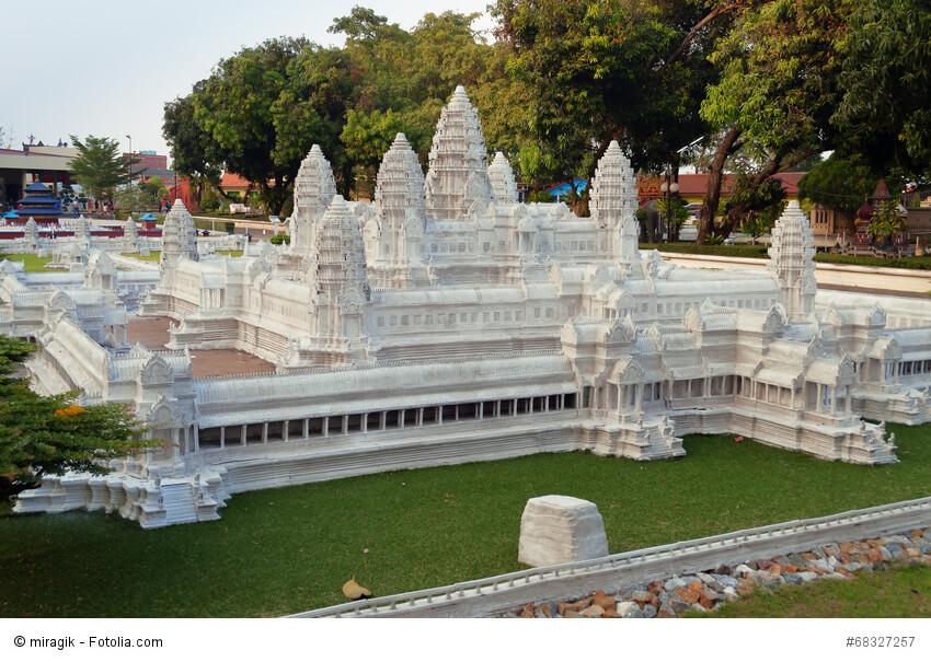 Angkor Wat im Mini Siam Park