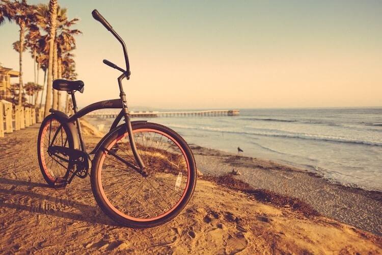 Fahrrad Transport auf Gili AIr