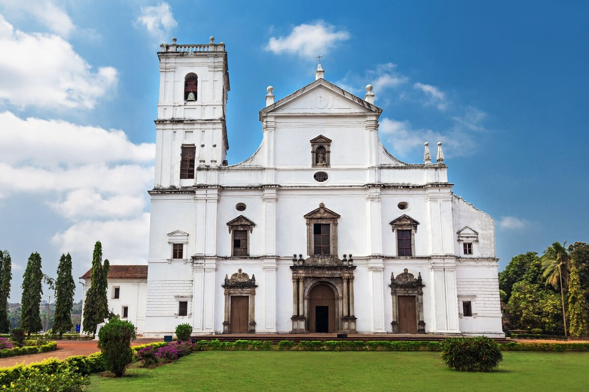 Alte Kathedrale in Goa (Indien)