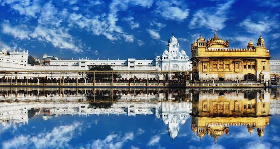 Goldener Temple Amritsar Indien