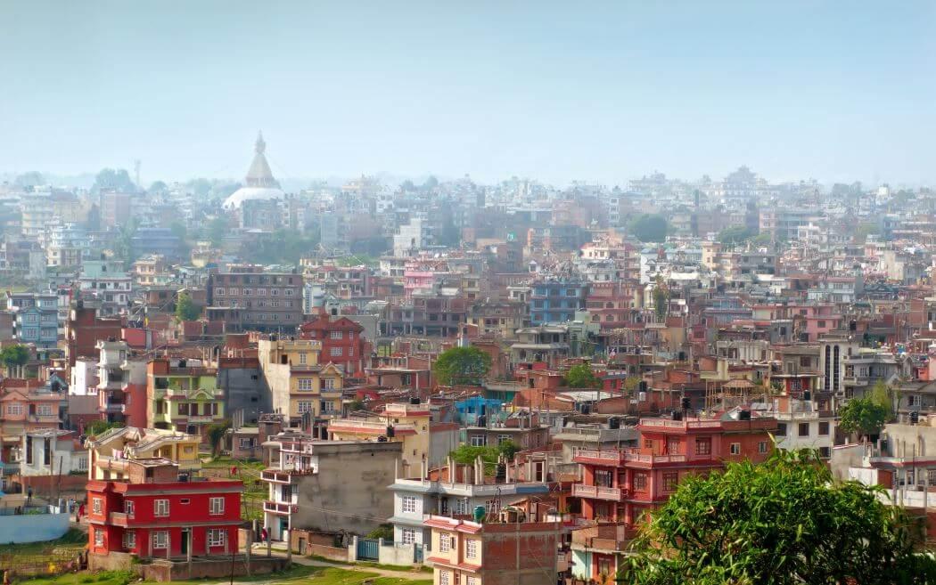Kathmandu - die Hauptstadt von Nepal