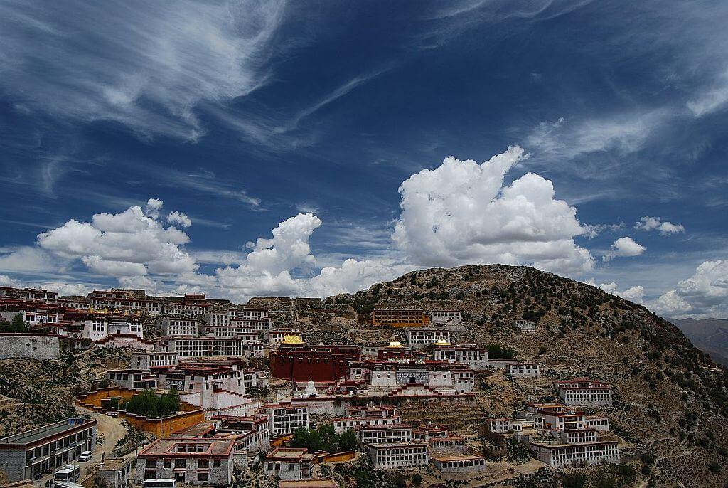 Kloster Ganden in Lhasa