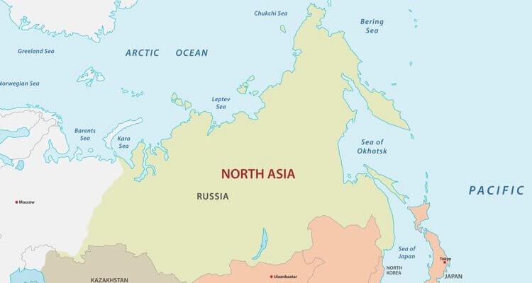 Südasien Karte.Asien Länder Karte Regionen Hauptstädte In Der übersicht