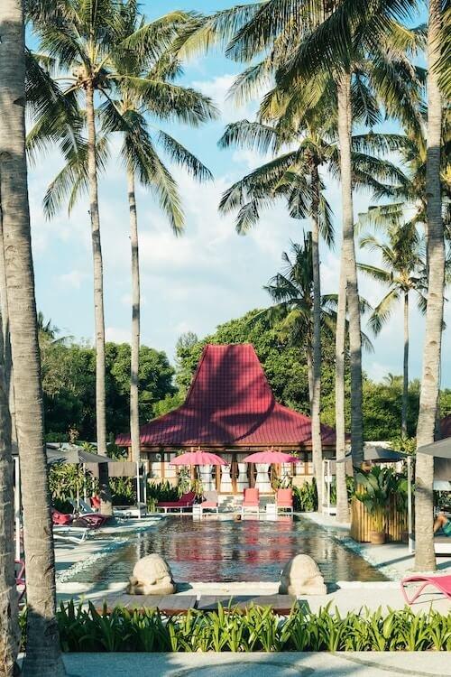 pink coco gili air