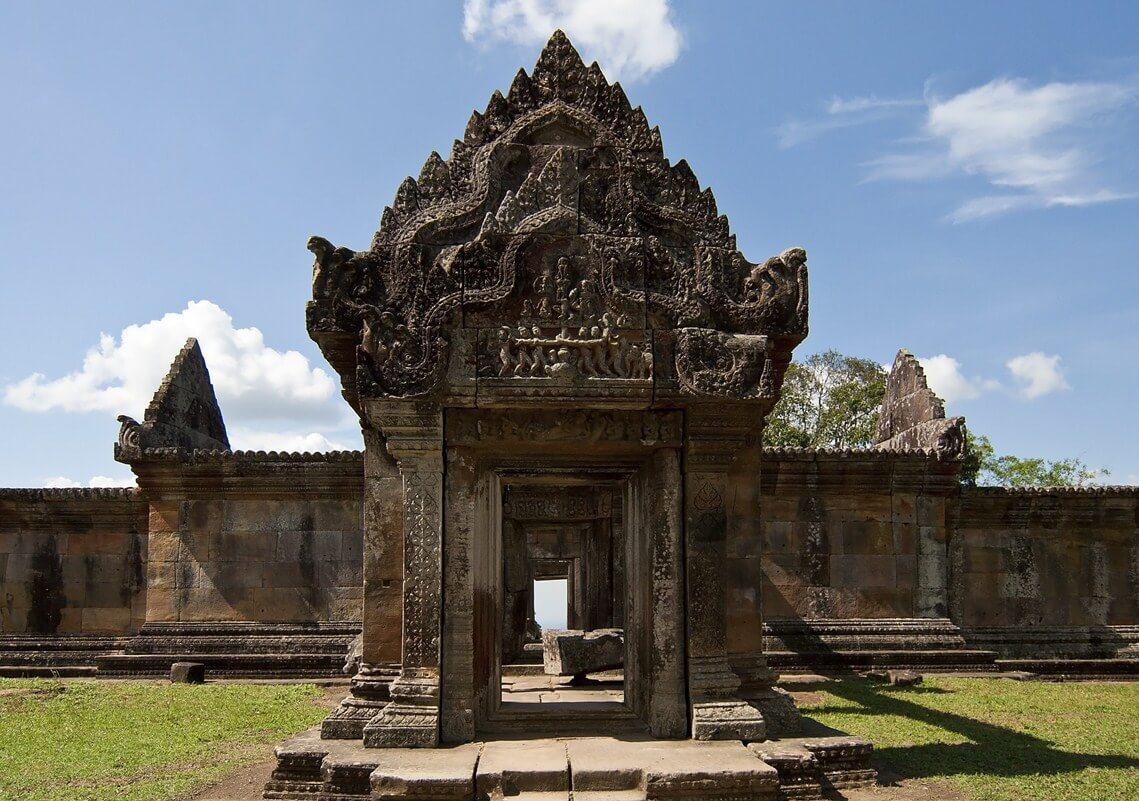 Der Preah Vihear Tempel