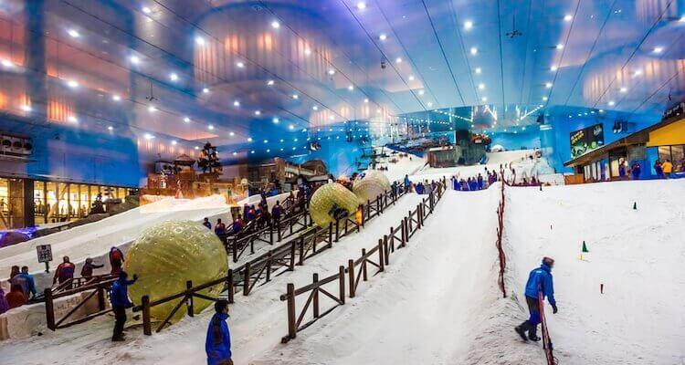 ski fahren in dubai