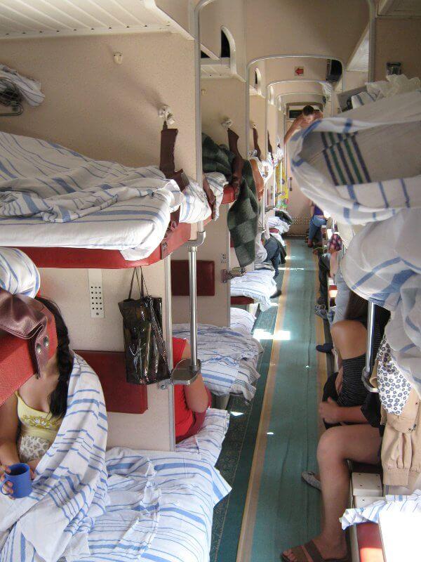Transsibirische Eisenbahn Wagenklassen