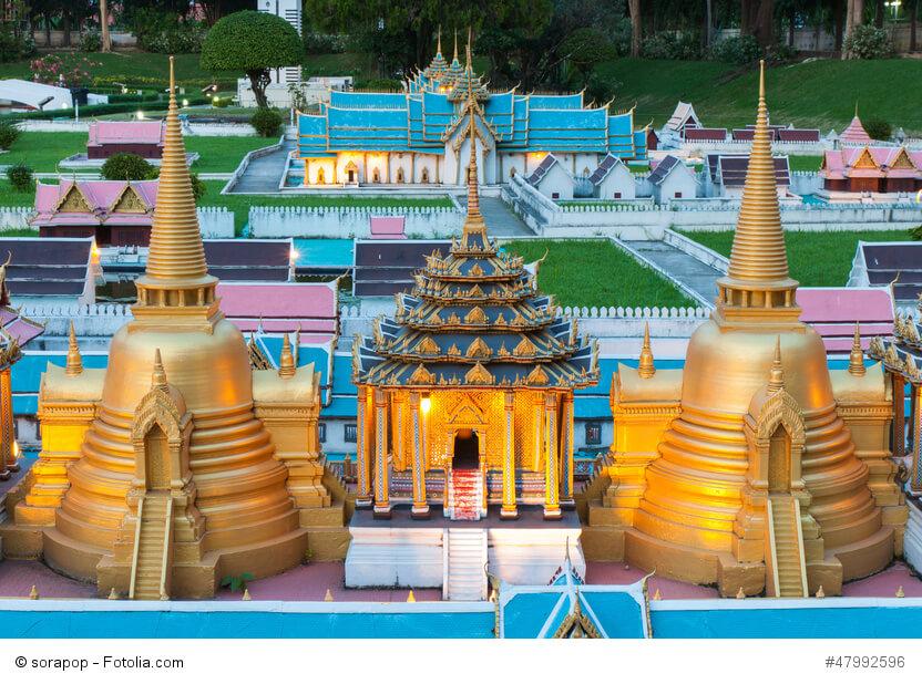Im Mini Siam Park bei Pattaya